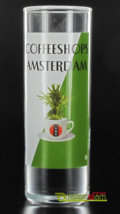 Vodka cylinder Coffeeshop Amsterdam