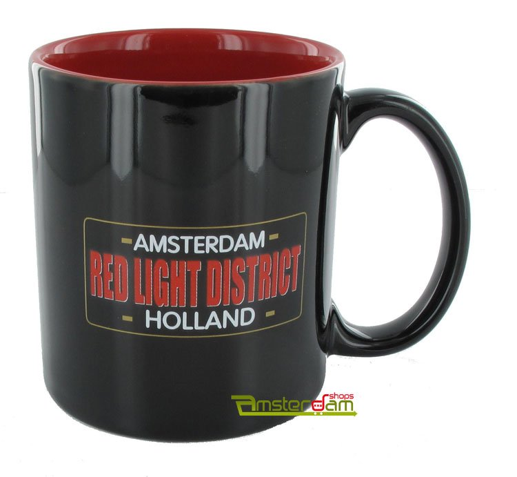 COFFEEMUG RED LIGHT DISTRICT RED