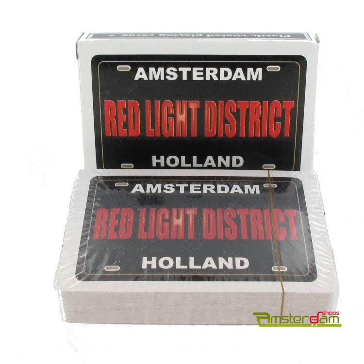 PLAYING CARDS REDLIGHT DISTRICT