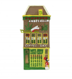 MAGNET HOUSE ``COFFEE SHOP``