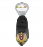 BOTTLE OPENER WOODEN SHOE BLACK A`DAM WEAPON
